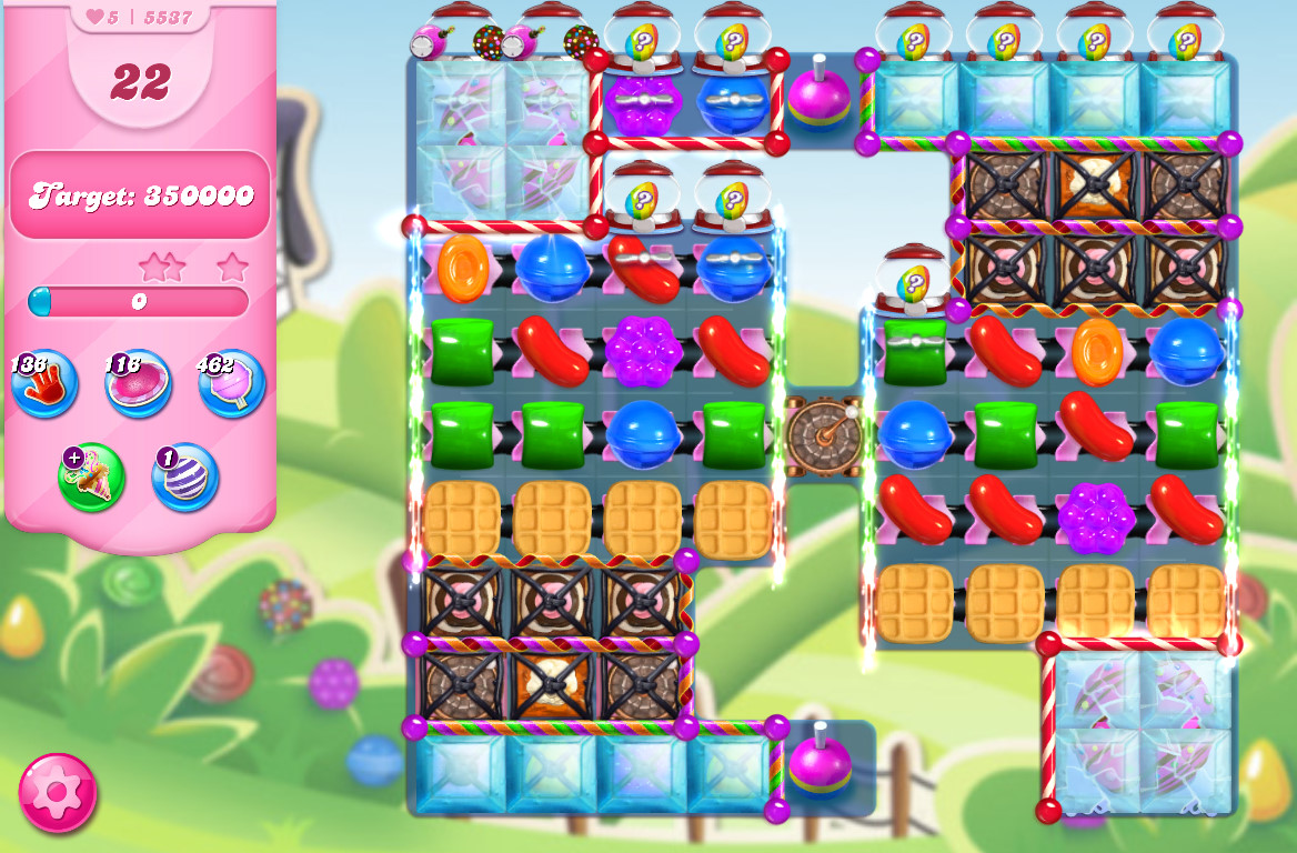 Candy Crush Saga level 5537