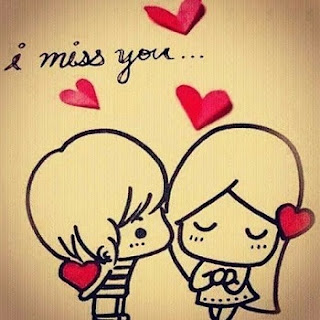 I Miss You Romantic Couple Whatsapp DP, Profile Pictures