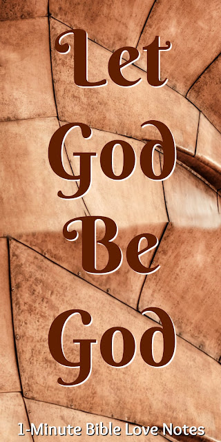 Genesis 50:15-20; Genesis 39:1-21, Joseph let God be God