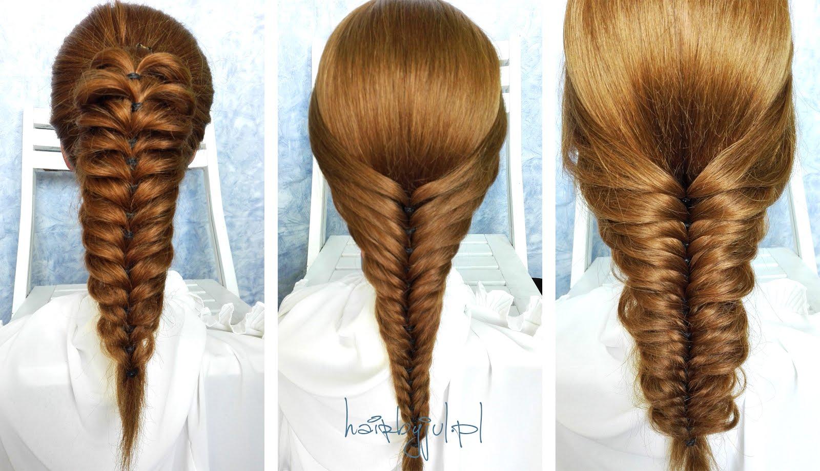 Oszukany Kłos Fryzura Krok Po Kroku Hair By Jul Fryzury