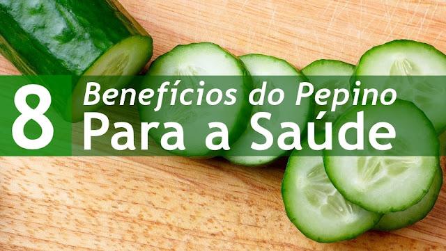 8 Benefícios do Pepino para a Saúde