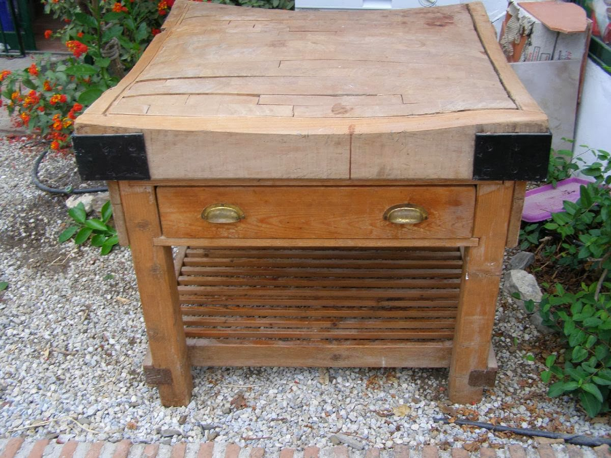 antique kitchen islands for sale large window curtains digame old butchers table