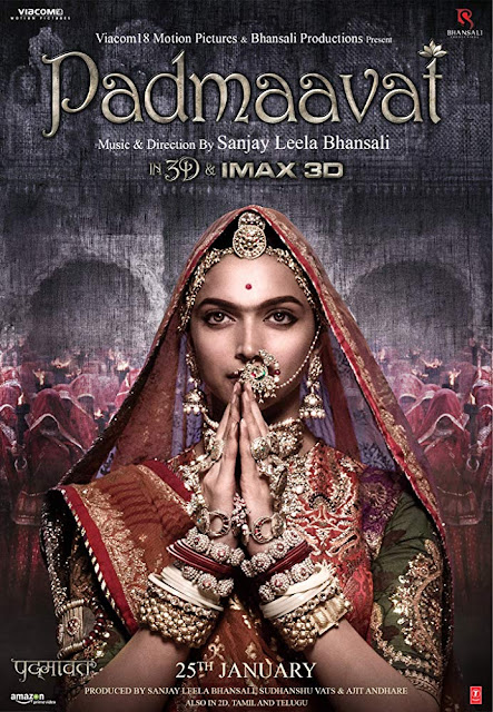 Padmaavat: A film that is commendable and partly dissolving but not quite exhilarating 'Padmaavat' is essentially a love story between Padmavati (Deepika Padukone), a very beautiful princess of Singhal and Maharawal Ratan Singh (Shahid Kapoor), the King of Mewar. Their love at first sight quickly results into the King's second marriage. Meanwhile, a power obsessed Alauddin Khilji (Ranveer Singh), the Turko-Afghan ruler of the Delhi Sultanate, hears about fascinating beauty of Rani Padmavati, who ultimately calls for a war on Chittor to capture her. The subsequent events form the rest of the narrative. In 1540, Indian Sufi poet Malik Muhammad Jayasi wrote an epic poem which named 'Padmaavat'. He wrote this poem by Awadhi language. The poem describing the story of the historic siege of chittor by Alauddin khilji in 1303. The Malik Muhammad Jayasi text describes her story as follows:  Padmavati was an exceptionally beautiful princess of the Singhal kingdom. Ratan Sen, the Rajput ruler of Chittor Fort, heard about her beauty from a talking parrot named Hiraman. After an adventurous quest, he won her hand in marriage and brought her to Chittor. After that once upon a time Ratan Sen was captured and imprisoned by Alauddin Khilji, the Sultan of Delhi. While Ratan Sen was in prison, the king of Kumbhalner Devpal became attached with Padmavati's beauty and proposed to marry her. Ratan Sen returned to Chittor and entered into a duel with Devpal, in which both died. Alauddin Khilji laid siege to Chittor to obtain Padmavati. Facing a certain defeat against Khilji, before Chittor was captured, she and her companions committed Jauhar thereby defeating Khilji's aim and protecting their honor. Coupled to the Jauhar the Rajput men died fighting on the battlefield.  Sanjay Leela Bhansali is a famous and prominent film director in Bollywood film industry. He adapted the Jayasi's 'Padmaavat' poem and directed a historical film named 'Padmaavat' in this year.  Bhansali has explored well-known epic love stories before: Devdas (2002), Goliyon Ki Rasleela Ram-Leela (an adaptation of Romeo and Juliet) and Bajirao Mastani (2015). Incidentally, that latter film was also inspired by what some consider historical fiction, and resulted in protests by another community group for misrepresenting historical figures. Fortunately, at the time, a long disclaimer that the movie is inspired by history and does not represent it seemed to do the trick to pacify protests. 'Padmaavat' opens with an even lengthier disclaimer, and adds another one but more on the second disclaimer shortly. This film made a history in Bollywood film industry for its highly commercial success.  Generally we should discuss about film content and theme. Every film industry has own filmic style. Sometimes they promote their cultural heritage, social and economic issues. But we also see some industry where they portray their cinema as a tool for cultural aggression. Generally love, emotion, dance, music, melodrama are the general types of Bollywood cinema. They usually use the techniques for their industry. But now-a-days the tendency of the techniques is changed. They count the historical based cinema and get success from them. That is a great example of 'Padmavat' film.  Bhansali's 'Padmaavat' is the most ambitious film to emerge from Bollywood's stable in quite a while. It is based on the legend of Rani Padmavati, a legendary Hindu Rajput queen which I mentioned above. Bhansali implicitly extols questionable concepts of femininity, loyalty, and spirituality even if 'Padmaavat' is more concerned with secular traditions than religious beliefs. It is hard to imagine being able to talk about this film, or its characters symbolic importance without getting into a fight about its inherently retrogressive nature.   Still, 'Padmaavat' seems to exist to show the beauty of Jayasi's archetypal love story. Through several key scenes, Bhansali emphasizes Alauddin's secular greed and obsessive character. Singh's intensely committed performance makes believe in his character's Iago-like malevolence, even when Singh himself goes so far over the proverbial top that he flies into the stratosphere. Singh's charisma makes that believe him when he snarls, grimaces, and even dances out Alauddin's character-defining aggression. Singh's dancing is especially impressive, as in the scene where Alauddin gathers his men and boasts that he is 'aloof before heaven'. This set piece is so rousing that it stands out as the best musical number in a film full of strong vocal performances and well-conceived choreography. I seldom feel this way about a Bollywood film, but when I am watching 'Padmaavat', I felt privileged as a moviegoer. Privileged that such a film has been made about Rajput pride, and privileged that it has been made in our times that only glorifies the Rajputs. But unfortunately, director Sanjay Leela Bhansali fails to give us a compelling cinematic experience which would not rely only on visual appeal of the film. 'Padmaavat' is one of the most expensive Indian films ever made. It is also the first Indian film to be released in IMAX 3D.  Sanjay Leela Bhansali makes his most courageous film yet, but sadly the results are not very impressive. The film that is a war epic, love story, and costume drama, all in one, is marshed down by medium performance. Many will be said about the film's daunting length, and the truth is that it could have been shorter. It's the kind of film that tries too hard to get your attention in the run-time of almost three hours. However, the second half of the film does get little pacy and you are swept into Rani Padmavati's political tactics and her personal growing-up journey. The idea of Jauhar seems a bit jarred in today's times, especially when the entire film builds to that one high moment. Deepika Padukone performs adequately. She looks ethereal like that a compliment that she has heard many times before, especially in Bhansali's last two movies. Here, she has minimum dialogues to deliver and she lets her expressive eyes do the talking and that only works in her favor. Shahid Kapoor gives an earnest performance. It is a very controlled performance from his part and he owns literally every scene he is in. Also we saw that Deepika and Shahid's chemistry is ravishing. They sizzle in every scene they are in together. Ranveer Singh as the menacing Khilji is effective in parts, but overall, his egomaniacal act is too loud. 'Padmaavat' is certainly not his best work but it offers wide evidence of his development.  The supporting casts have done a fine job. Especially, Jim Sarbh and Aditi Rao Hydari are. A slight regret is that Sarbh should have had a stronger characterization for his background, as his character does not impact the movie in any way. Hydari as Khilji's wife Mehrunnisa, manages to leave a mark in her limited appearance. Indeed even Aditi Rao Hydari and Jim Sarbh shine in their smaller roles. Bringing stability and prevention to characters are central to the film's story. Hydari and Sarbh are magnificent in their ability to trench themselves in roles that stand up to the lead actors and still leave their mark. Sarbh, coming off critical praise from 'Neerja' is a proper choice as Allauddin's closest adviser and Bhansali's depiction of passion between Sarbh and Singh is narrow yet apparent. It is a welcome portrayal of bisexuality in Indian cinema, without stereotypes or any other attention to it besides devotion. It is a brave directorial choice for Bhansali. That I actually wish he had deepened a little further with so many eyes on this film and with Singh at the helm, this aspect could have done more to face the taboos of sexuality. Still, their fractions of chemistry are electric, adding another layer to an already shade the film. This film has a fine production design, costumes and camera work. Its technical finesse on display which makes you realize how much hard work Sanjay Leela Bhansali and his team of technicians has put in making this film to look sharp and intense. But even Sudeep Chatterjee's interstellar cinematography that carries on all the way through fails to pay off run-of-the-mill storytelling and conceptual disunity. There is no violence of war, no trouble or post injurious stress. Besides that the sub plot of Maharawal's first wife (Anupriya Goenka) gets suitable repair towards the climax, which is irrelevant. Music by Sanjay Leela Bhansali is good enough, but the songs appear a repeat of his previous work. While 'Ghoomar', 'Ek Dil Ek Jaan' are visually appealing. Ranveer's useless dance number 'Khalibali' reminds you of Bajirao Mastani's 'Malhari'. The makers should know that quality trumps quality when it comes to special effects. The inconsequential 3D and an overly glossy crowd wowing star spectacle make 'Padmaavat' look like pure product which manipulates the audience to love it. But the fact is that it lacks the real depth and hence the high of watching a good piece of cinema. 'Padmaavat' emphasizes Ratan Sen's Hindu, Rajput, Kshatriya side in a way that is more captivating that one expects. Indeed as the villain, Allauddin is a Muslim, and much can be derived from the religious oppositions between this mad man and the perceived good of Ratan Sen. However, the film has done justice to the valiant Rajput spirit, and has made of it a story filled with battles that are enthralling because of their strategy, instinct and power. Not one that should be seen as simply Muslim versus Hindu. As a character in any other director's eye, perhaps Allauddin would have just been another villain-dark, mean that and easy to hate. What Singh's portrayal brings to Allauddin is depth, madness, and in a true witness to his acting, a deep sense of loss when he is not on screen. From dialogues to body language to express with his eyes, it is clear that how far Singh went into this character to bring him to life. Allauddin is a player, thief, and murderer, and yet you get mysterious glances of man avidity for love. One who sees beauty and attraction in problematic ways and yet crosses lines of heterosexuality. His contradictory nature makes him one of the most compelling villains of modern Indian cinema, brought to excellence by none other than Bhansali's direction and Singh's passion. As of late we observed that, Bhansali has moved from the 90's romance of films like 'Hum Dil De Chuke Sanam' to historical fiction or period dramas and made a genre that is clearly his forte. The creative vision and the lasting impact of pulling off a large budget film with realistic war scenes, stunning sets, intricate costumes, and still, the ability to evoke groundbreaking performances from his lead actors is a witness to Bhansali's growth as a filmmaker and his obvious artistic abilities.