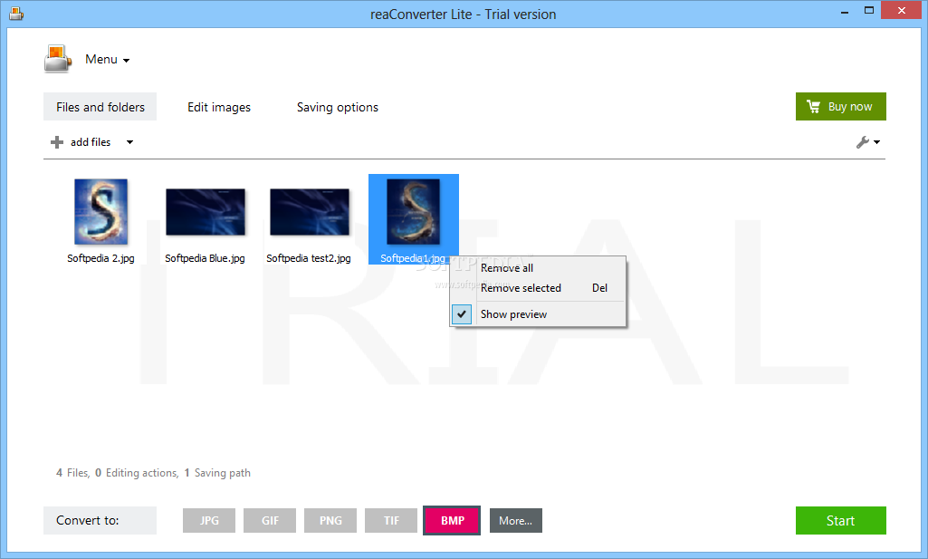 تحميل برنامج تحرير الصور وتعديلها ReaConverter Lite 7.2