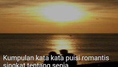 Kumpulan Kata Kata Puisi Romantis Singkat Tentang Senja