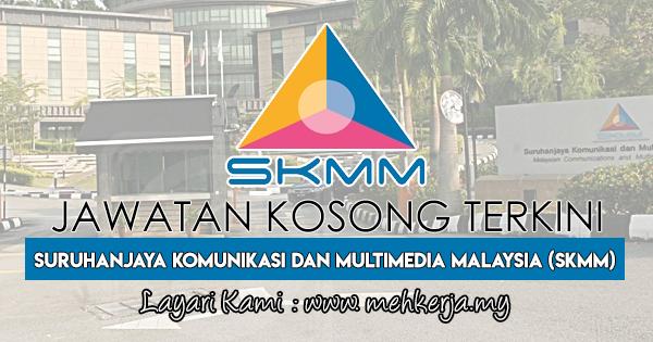 Jawatan Kosong Terkini 2018 di Suruhanjaya Komunikasi dan Multimedia Malaysia (SKMM)