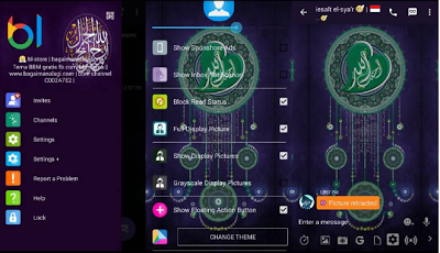 BBM MOD Ramadhan I Love Allah Whatsapp v2.13.1.14 Apk
