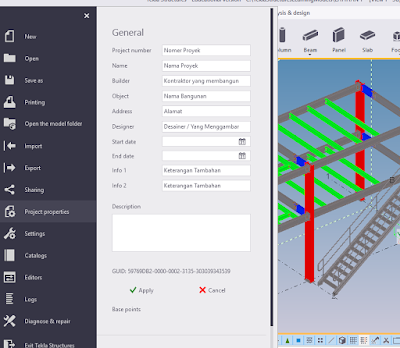tutorial tekla bahasa indonesia