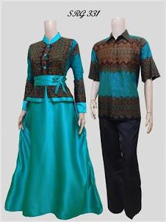 baju batik sarimbit model baru