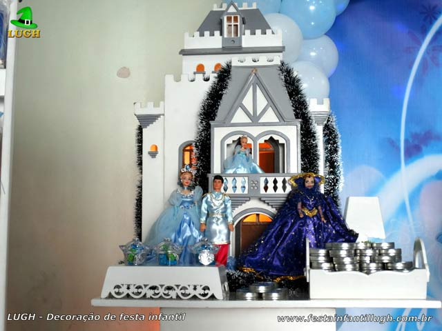Decoração de festa infantil Cinderela
