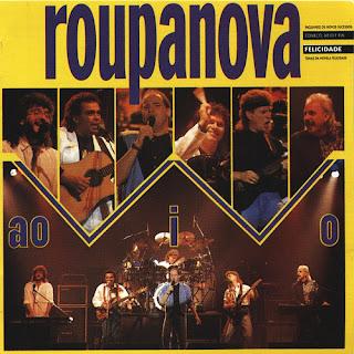 Roupa Nova Ao Vivo - Disco de 1991 do Grupo