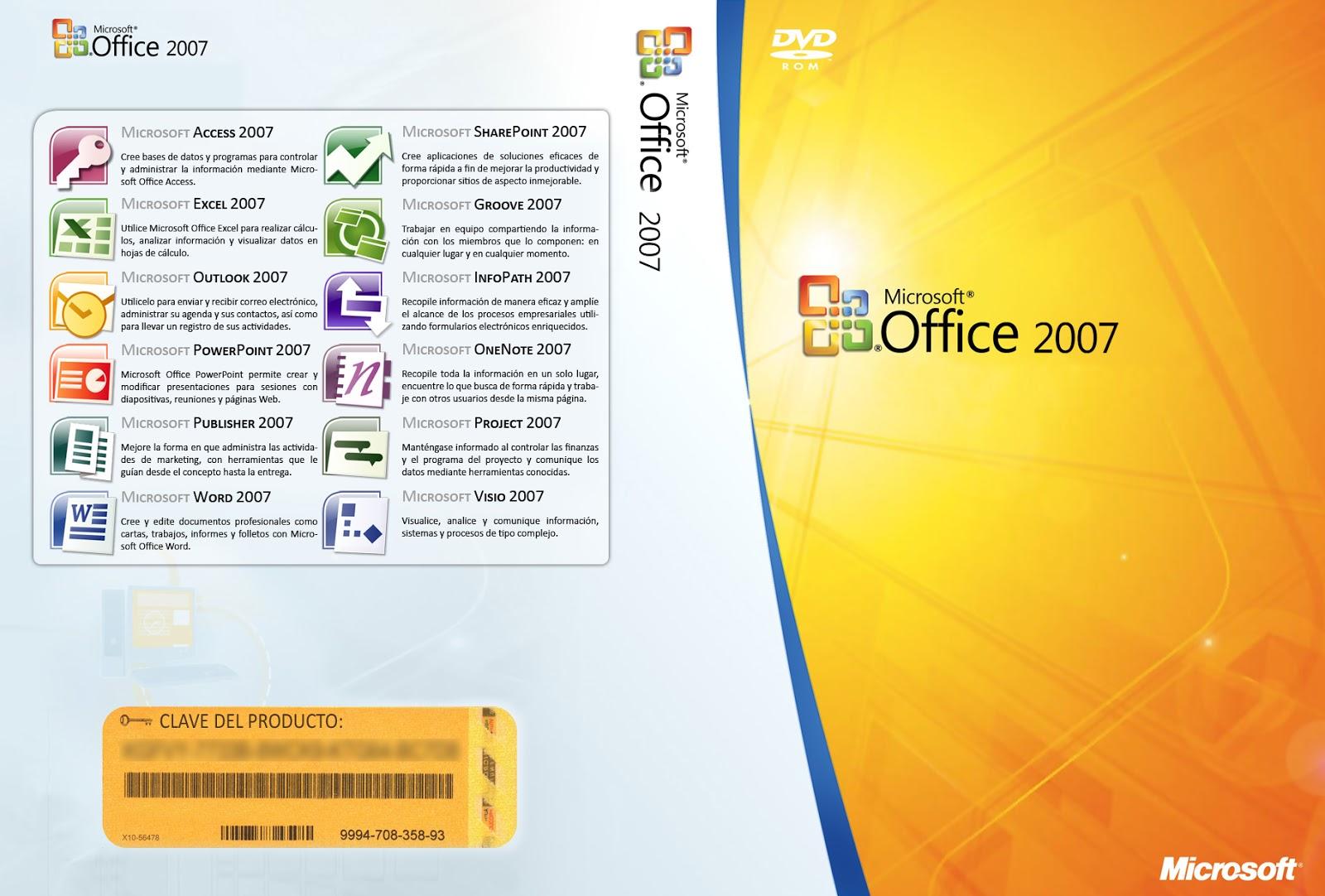 تحميل برنامج مايكروسوفت اوفيس 2007 Office عربي مجانا