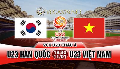 Nhận định - Soi kèo: U23 Hàn Quốc vs U23 Việt Nam