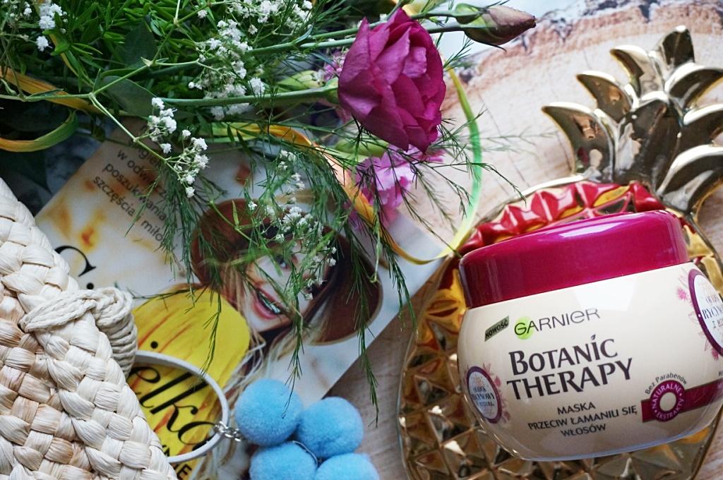 Garnier Botanic Therapy maska przeciw wypadaniu włosów