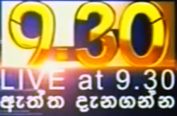 Live @ 9.30pm News 09.10.2017 Live at 9.30