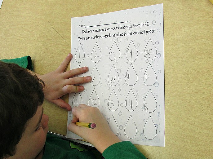 fundations writing paper kindergarten