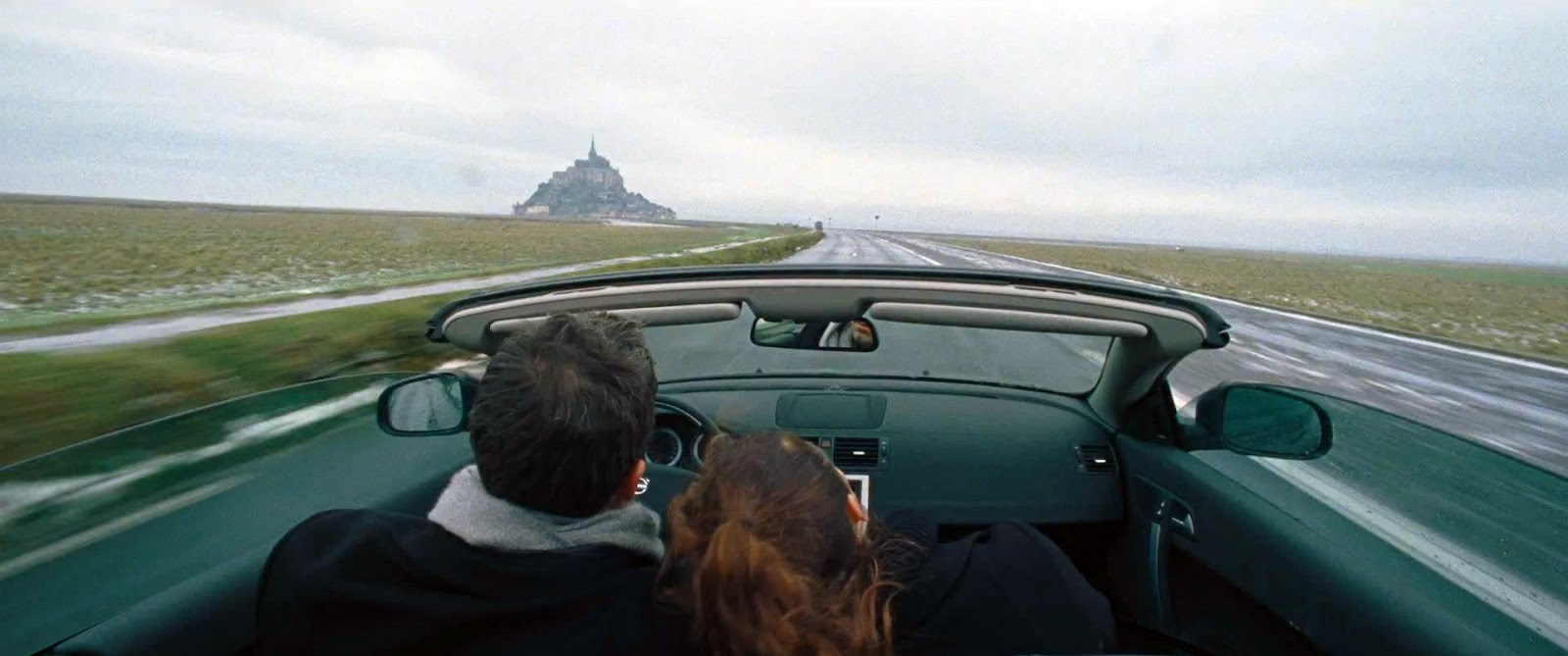 To the Wonder Ben Affleck Olga Kurylenko road to Mont Saint-Michel