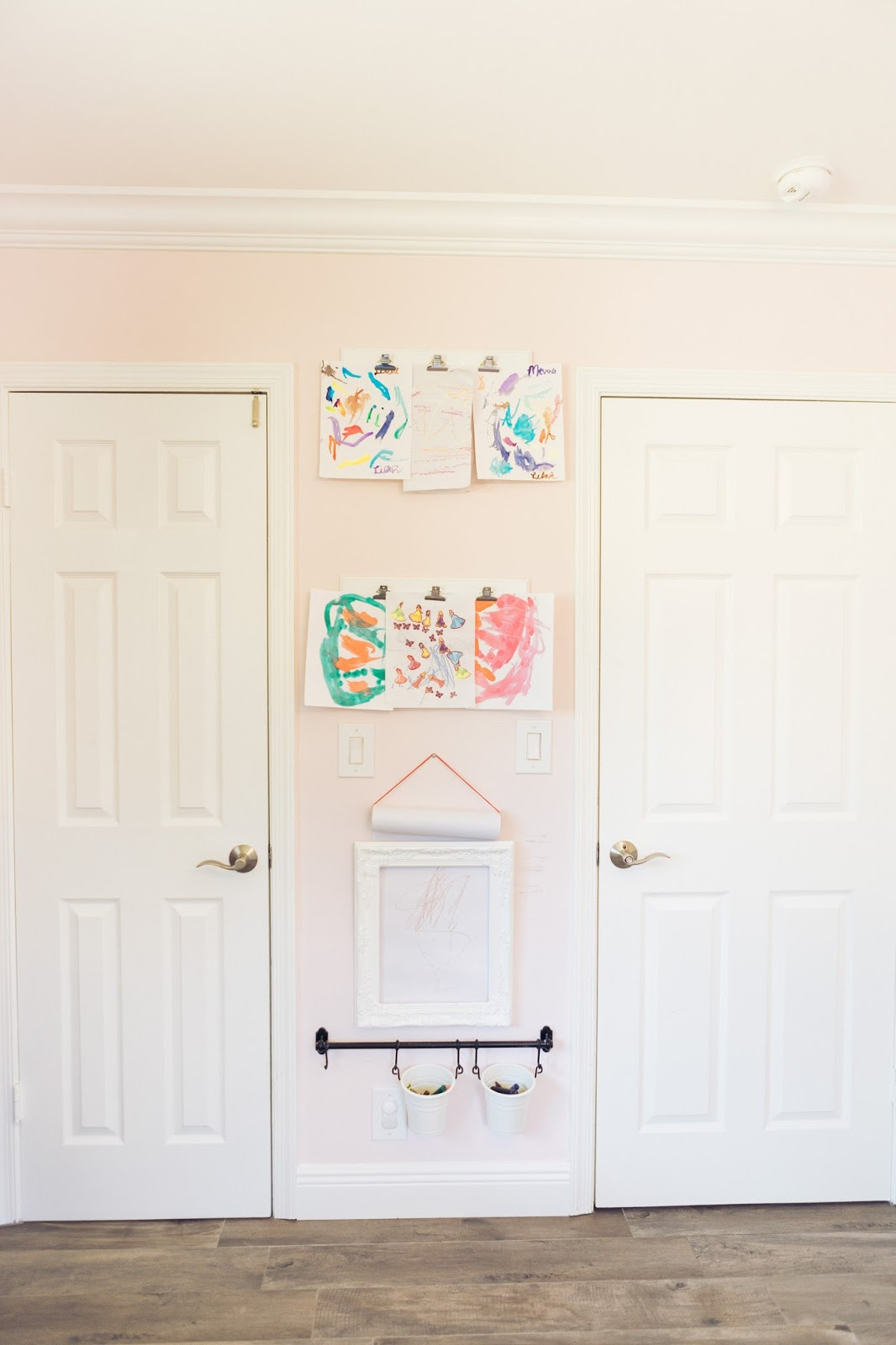 Children's Art Station: The Perfect Toddler Coloring Station by popular lifestyle blogger Celebration Stylist