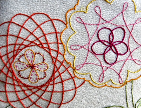 Cassie Stephens DIY An Optical Illusion Of Embroidery