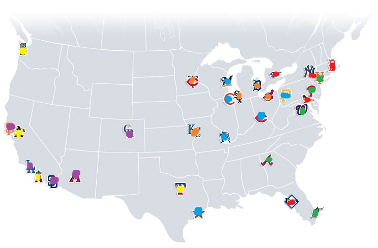 Philly Sports Escape MLB Realignment?? - World Map Database