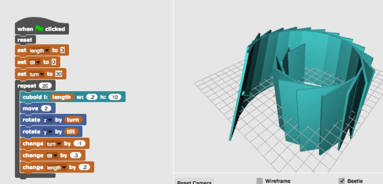 Open Blackboard: Build VR Worlds From Tinkercad and BeetleBlocks Models
