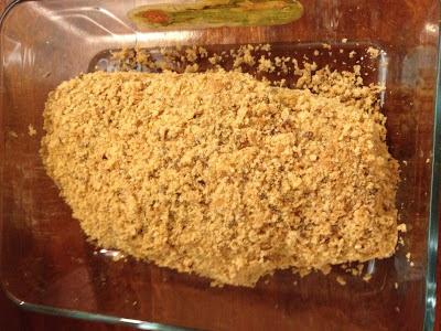 chicken kiev in baking dish