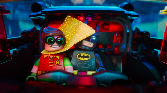 robin batman bat mobile lego batman movie still