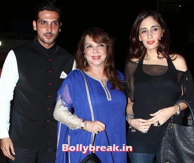 zayed khan, Zarine Khan and Soha Ali Khan, Ileana, Shradha at Main Tera Hero Special Screening