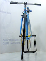 2 Sepeda Fixie EVERGREEN dengan Flip Flop Hub 700C