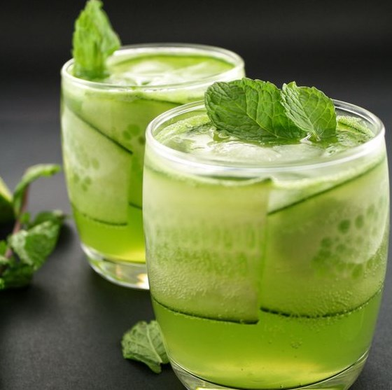 Cool Gin and Cucumber Cocktail #drinks #cooldrink