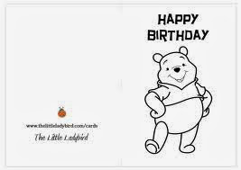 Happy birthday winnie the pooh coloring pages ~ Winnie The Pooh Coloring Pages Birthday