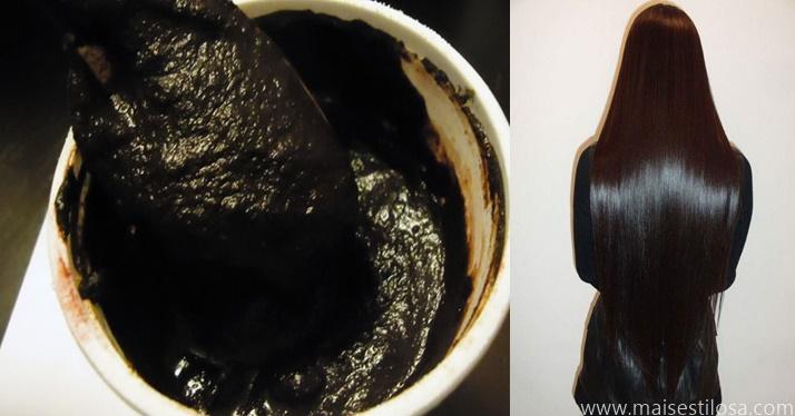 escurecer cabelo branco naturalmente com cafet