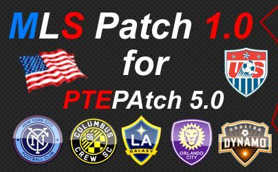 PES 2016 MLS Patch V1.0 untuk PTE Patch 5.0