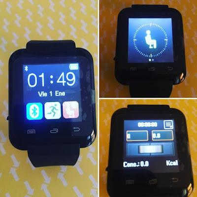 Hamswan, smartwatch, reloj inteligente, amazon