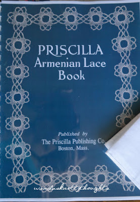 Priscilla Armenian Lace book from Fox wandasknottythoughts