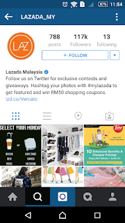 Lazada MY on Instagram