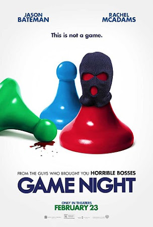 Game Night (2018) Latest Movie WEB-DL 480P 300MB English ESubs