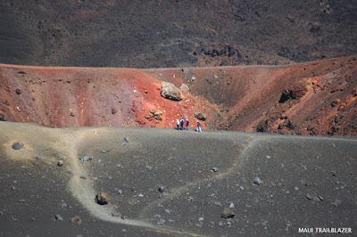 Maui volcano hiking