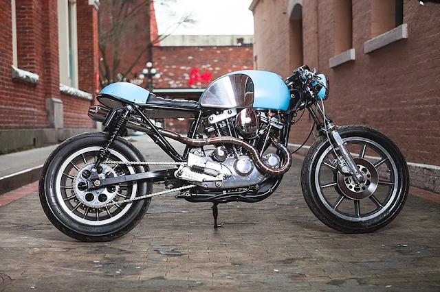 Harley Davidson Sportster By BareSteel Design Hell Kustom