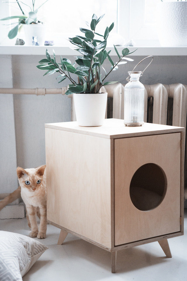 Scandinavian style pet furniture and accessories