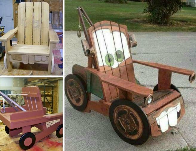 Ideas para ni os hechos con pallets de madera - Cosas hechas con palets ...