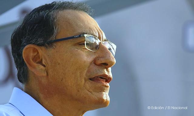 Aprobación del presidente Martín Vizcarra