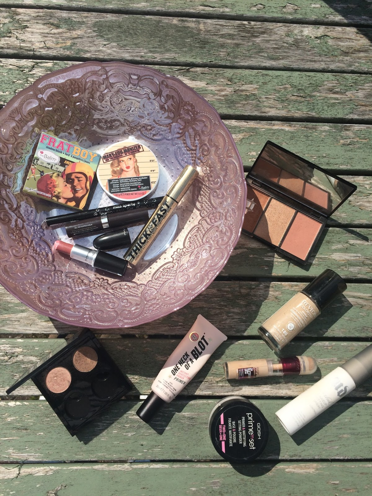 Everyday makeup featuring Mac , Revlon , Soap & Glory, Makeup revolution and The Balm