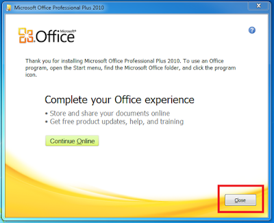 Cara Install Microsoft Office 2010 Professional Full Version