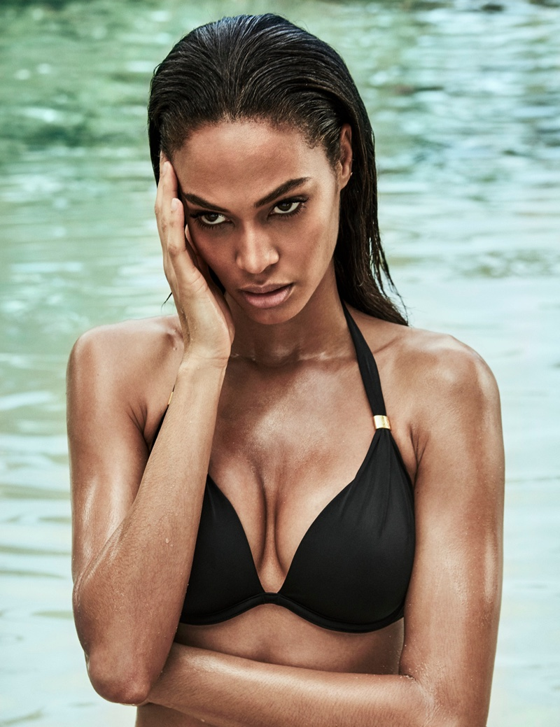 Joan Smalls stars in Smart & Sexy Swim Secret campaign