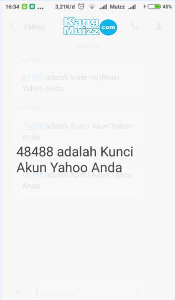Cara Super Mudah Membuat Email Yahoo Lewat HP