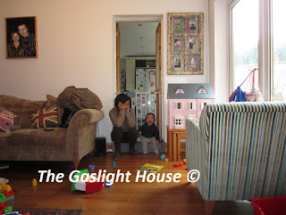 The Gaslight House playtime with toddler, little boy