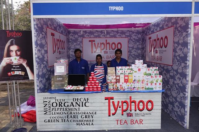 Typhoo's stimulating flavors at Apeejay Kolkata Literary Festival 2017