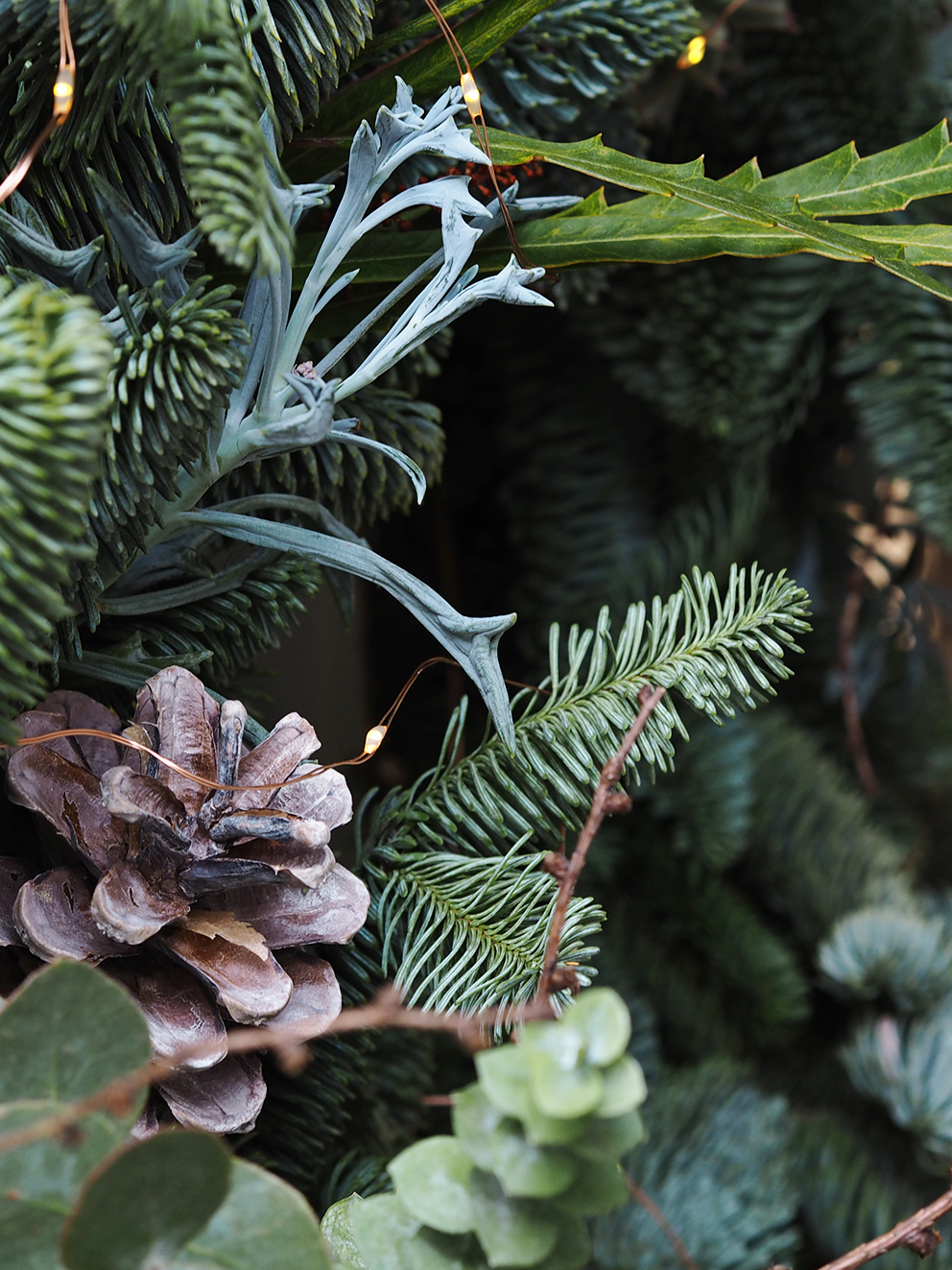 French For Pineapple Blog Petal & Grace Christmas Wreaths