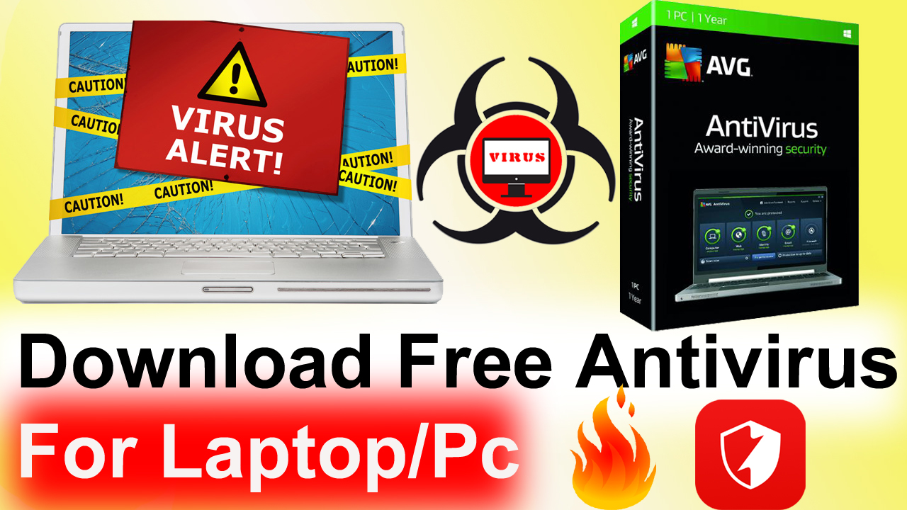 Download Free Antivirus For Laptop And Pc Clean Virus In Pc